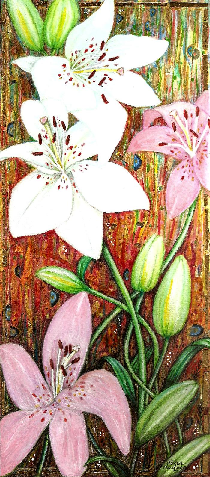 lilies decorative