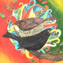 Blackbird Mandala